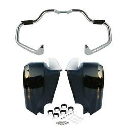 Mustache Engine Guard Lower Vented Fairing Fit For Indian Chief Dark Horse 16-19