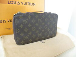 Louis Vuitton Travel Case Organizer Wallet Escovedo M60113 Used Discontinued