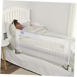 Swing Down Bed Rail Guard With Reinforced Anchor Safety System