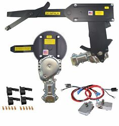 1958 Front Door And Rear Power Window Kit With Nu-cranks Switches Gm Large Round