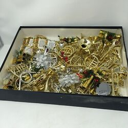 Huge Lot Of French Horn + Music Instruments Christmas Tree Decorations Taiwan