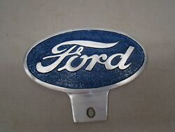 Vintage Style Ford License Plate Topper Ford Topper Ford Script License Topper