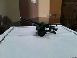 Vintage Toy Artilliary Gun. Britains Ltd. Made In England. Old Antique Toys