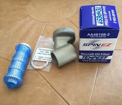 Co-300 Oil Filter Adapter Aircraft