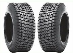 Two A Pair 18x7.00-8 4 Ply Lawn Tractor Mower New Turf Tires