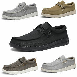 Menand039s Casual Wally Stretch Loafer Boyand039s Lightweight Slip-on Sneakers Size 6.5-13