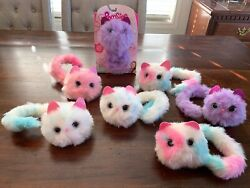 Pomsies Lot Of 7 Lovable Wearable Pom Pom Pets Skyrocket Promises Interactive