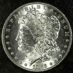 1885 P Morgan Silver Dollar ☆☆ Uncirculated ☆☆ Great For Sets 157