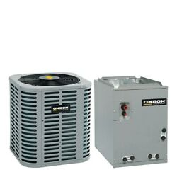 Oxbox - 2 Ton Air Conditioner + Coil Kit - 14.0 Seer - 14.5 Coil Width - Mu...
