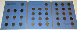 Uk Great Britain Farthing Set 1902 -1936 Complete 37 Coin High Grade Collection