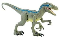 Jurassic World Super Colossal Velociraptor Blue 18andrdquo High And 3.5 Feet Long With