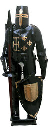 Medieval Combat Full Body Armour Medieval Knight Suit Adult Halloween Costume