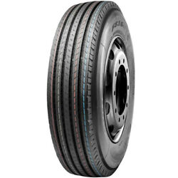 4 New Leao F816e+ 11r22.5 Load G 14 Ply All Position Commercial Tires