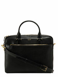 Tom Ford Menand039s Bags Shoulder Bag Black Leather Nib Authentic