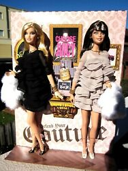 Nrfb Juicy Couture Barbie Dolls,nice Dolls W/ Nice Outfits,shoes,jewelery, Etc.
