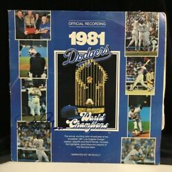 Official Recording 1981 Dodgers World Series Champions Signed By Ron Cey 1981