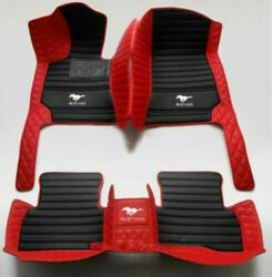 Luxury Customization Ford Mustang 1994-2021 Car Floor Mats Front Rear 0.0