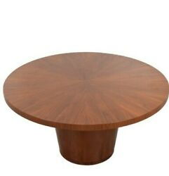 Crate And Barrel 60 Round Orion / Nova Diniing Table Gently Used