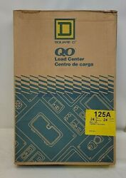 New In Box Square D Qo324l125g Load Center 24 Circuit 24 Space Main Lugs