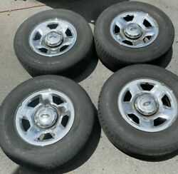 2004-2008 17 Ford F-150 Expedition Factory Chrome Clad Rims Wheels And Tires
