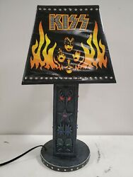 Kiss Band Rock Collectible Table Lamp Spencers Signatures Network 2007 Free Ship