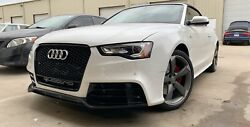 Rs5 Style Front Bumper Conversion Kit With Grill For Audi A5/s5 B8.5 2013 - 2017