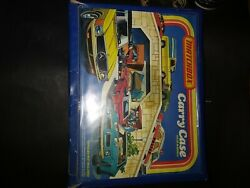1978 Matchbox Carry Case With 50 Cars Included 70and039s To Early 90and039s Models