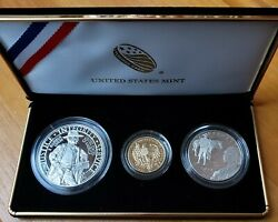 2015 W P S Us Marshals Service 225th Anniversary Commemorative 3 Coin Proof Set