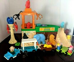 Vintage Little People Zoo Little People Extra Animals Play Set Zoo Keeper Family