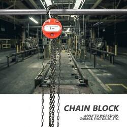 3 M 2t Puller Block Fall Chain Hoist Hand Tools Lifting Chain With Hook