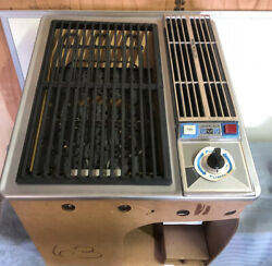 Jenn Air Down Draft Grill Stainless Vintage 2366 New In Box Nos Tiny House Rare