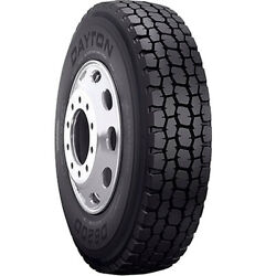 4 New Dayton D620d 11r24.5 Load H 16 Ply Drive Commercial Tires