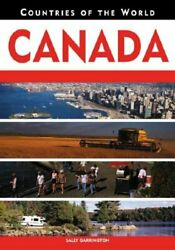 Canada Countries Of The World, Garrington 9780816060092 Fast Free Shipping+