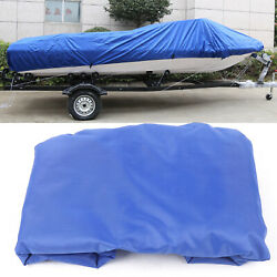 11.4ft Blue Sail Cover - Mainsail Boom Cover 420d Oxford Cloth Weather Proof New