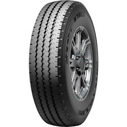 4 New Michelin Xps Rib 245/75r16 Load E 10 Ply A/s Commercial Tires