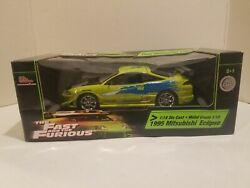118 Fast And Furious Brianand039s 1995 Mitsubishi Eclipse Rc2 Ertl Racing Champions