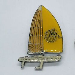 The Whitbread Round The World Race 97-98 Sailing Collectors Pin Pinback Lapel