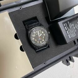 Mtm Special Ops Black Hawk Rechargeable Battery Discontinued Model Watch Used