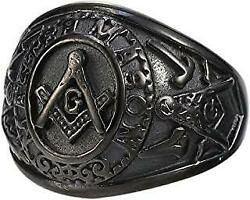 Metaphysical Offers Accepted 33rd Degree Mason Golden Touch Ring Life Changing