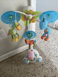 Tiny Love Meadow Days Soothe And039n Groove Baby Mobile - Grows With Your Child