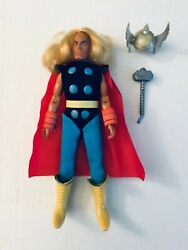 All Original And 100 Complete 1970's Mego 8 Marvel Mighty Thor Avengers Minty