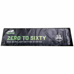 Arctic Cat 60th Anniversary Shop Banner Model Year 2022 Snowmobile