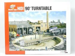 Ho 1/87 Scale Walthers Cornerstone Series 933-2840 Operating 90' Turntable