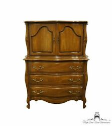 Bassett Furniture Country French Provincial 44 Chest On Chest 7155-42