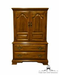 Sumter Cabinet Solid Oak Country French 39 Door Chest 1508-0192
