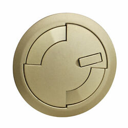 Wiremold Legrand 6atcpbs Recessed Prewired Assembly Surface Style Cover Brass