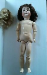 Antique 1910 Queen Louise German 7 Armand Marseille Doll Composition Body