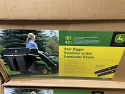 John Deere Riding Mower Rear Bagging System, Fits 100 And S200 Series 107cm42