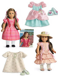 American Girl Doll Marie Grace And Outfits Lot Nrfb
