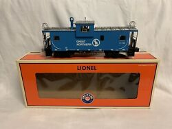 ✅lionel Great Northern Smoking Caboose 6-17672 O Scale For Diesel Steam Engine